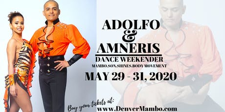 Adolfo and Amneris Dance Weekender tickets