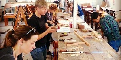 Atelier fabrication d'une pagaie en bois