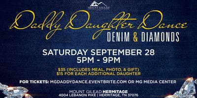 Mount Gilead presents the Denim & Diamonds Daddy Daughter Dance