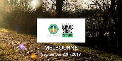 Global Climate Strike - Melbourne Deep Time Walk