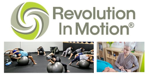 Revolution in Motion:  Open House! (Sat Oct 5, 11am-2pm)