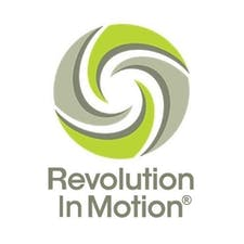 Revolution in Motion #RevInMo logo