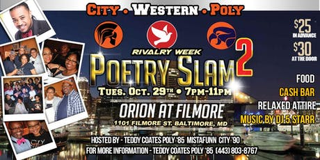 Rivalry Week Poetry Slam Mixer 2 tickets