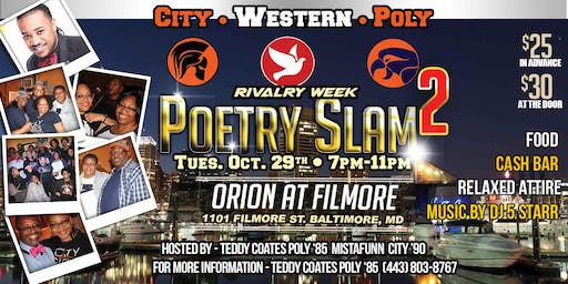 Rivalry Week Poetry Slam Mixer 2