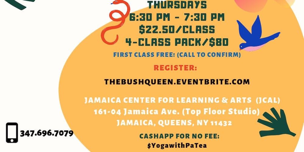SINGLE SESSION: Kemetic Yoga for Reclaiming Health, Peace & Power - Sankofa  Series