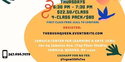 SINGLE SESSION: Kemetic Yoga for Reclaiming Health, Peace & Power - Sankofa Series