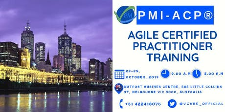 PMI ACP | Training | Agile Certified Practitioner | Melbourne | October tickets
