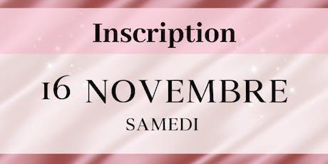 Samedi 16 novembre 2019 - Inscriptions PROFESSIONNELS Salon de la femme LBT billets