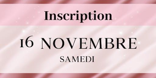 Samedi 16 novembre 2019 - Inscriptions PROFESSIONNELS Salon de la femme LBT