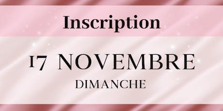 Dimanche 17 novembre : Inscriptions PROFESSIONNELS Salon de la femme LBT billets