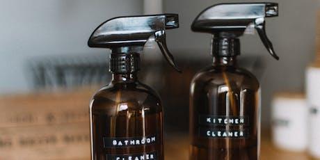 Detox your Home Essential Oils MAKE + TAKE OILS WORKSHOP  tickets