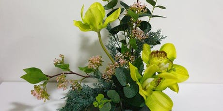 Novena: Japanese Flower Arrangement - Oct 26 (Sat) 3pm - 5pm tickets