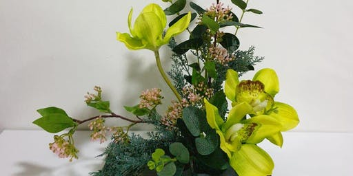 Novena: Japanese Flower Arrangement - Oct 26 (Sat) 3pm - 5pm
