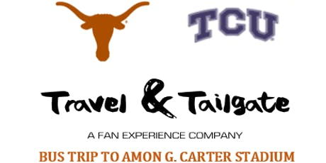 Texas vs  TCU- Fan Bus from Austin to Ft. Worth (Amon G. Carter Stadium) tickets
