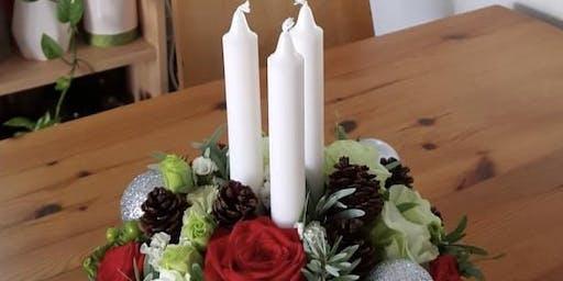 Simei: Christmas Centrepiece Arrangement - Dec 7 (Sat) 10.30am-12.30pm