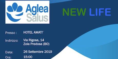 Presentazione aziendale progetto NEWLIFE di AGLEA SALUS MUTUA - Bologna biglietti
