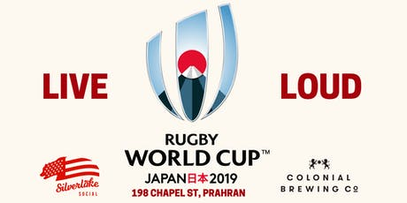Rugby World Cup Live & Loud (Aus Games) tickets