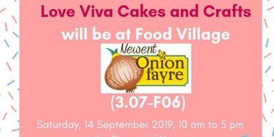 Love Viva Cakes and Crafts at Newent Onion Fayre