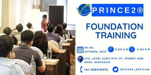 Prince2 Foundation Training | Sydney | October | 2019
