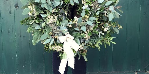 Christmas Door Wreath Workshop - Oldpost, Nutfield.