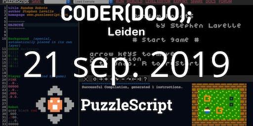 CoderDojo Leiden #63 | Puzzelgames maken