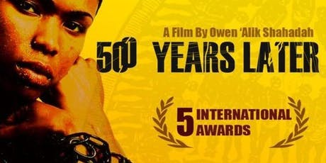 500 YEARS  LATER - Black History Month Film Screening tickets
