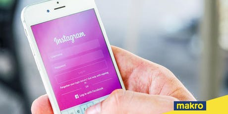 Instagram for Business, powered by Makro tickets
