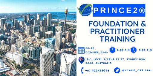 Prince2 Foundation and Practitioner | Training | October | 2019 | Sydney