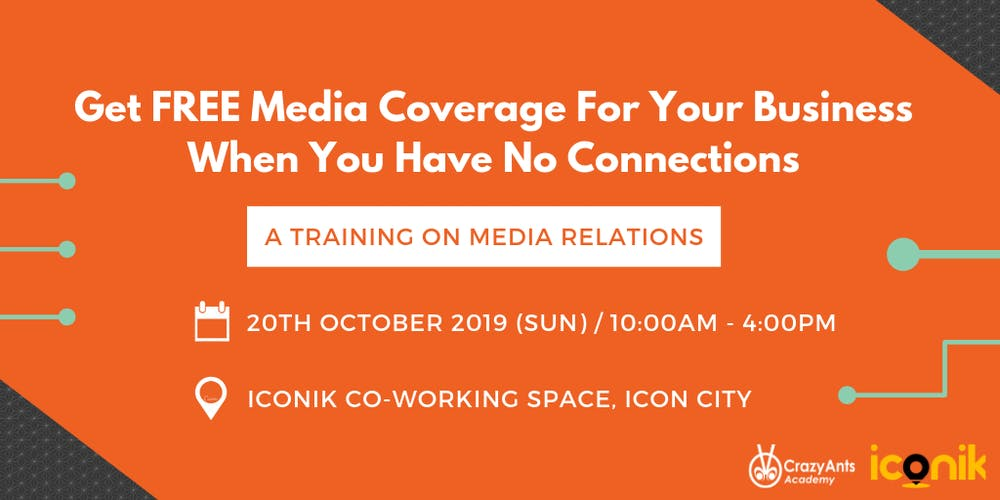 Get FREE Media Coverage For Your Business Tickets, Sun, Oct