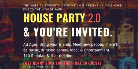 House Party 2.0 tickets