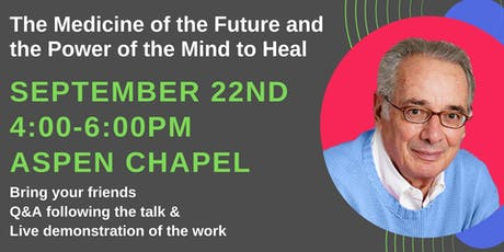 Robert Ginsburg for his last talk at the Aspen Chapel tickets