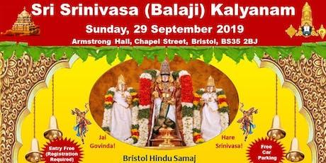 Srinivasa Kalyanam Bristol tickets