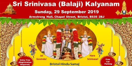 Srinivasa Kalyanam Bristol