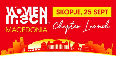 Women in Tech Macedonia - Chapter Launch tickets