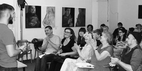 """""""Voices to be heard"""": Übersetzungsworkshop mit zeitgenössischen Texten Tickets"""