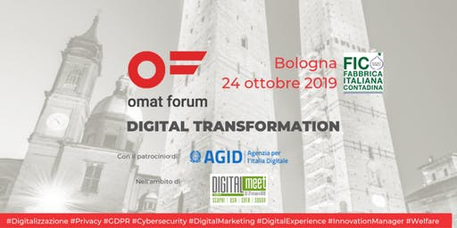omat forum Bologna  - 24 ottobre 2019