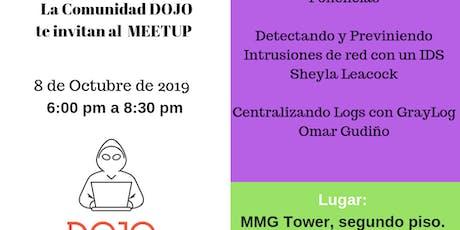 Comunidad DOJO - Meetup Octubre 2019 - 8 de Octubre de 2019 - Contacto: 6615-1093 entradas