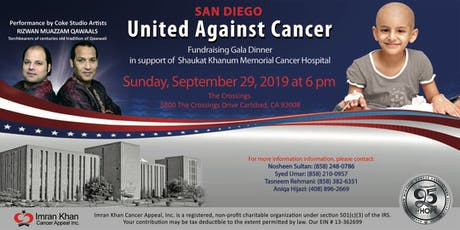 Fundraising Gala Dinner in San Diego tickets