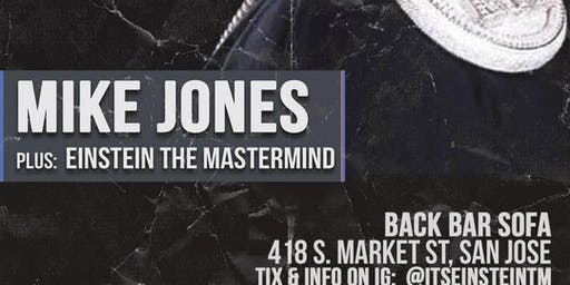Opening for Mike Jones!