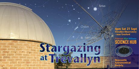 Stargazing at Trevallyn with the Paterson Allyn Williams Science Hub - Sept tickets