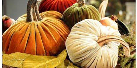 Coffee & Crafts- Velvet Pumpkin Collection tickets