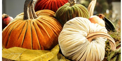 Coffee & Crafts- Velvet Pumpkin Collection