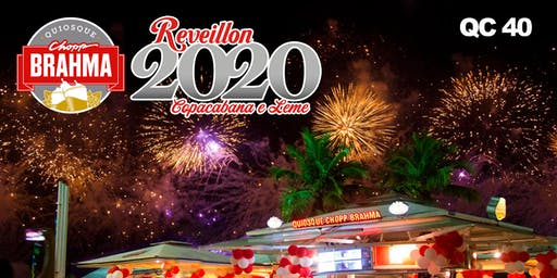 Reveillon Chopp Brahma Copacabana QC 40
