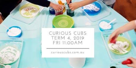 Curious Cubs Term 4 - Fri 11:00am (5 weeks) tickets