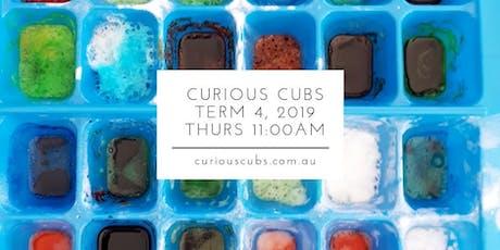 Curious Cubs Term 4 - Thurs 11:00am (5 wks) tickets