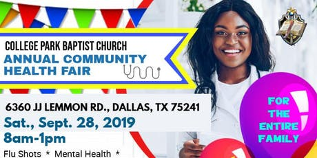 2019 Community Health Fair tickets