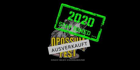 Opossum Fest 2021 - Finest Heavy Underground Tickets