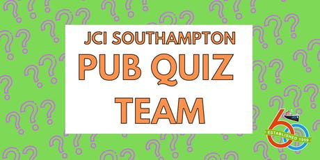 JCI Southampton Pub Quiz Team - SEPTEMBER tickets