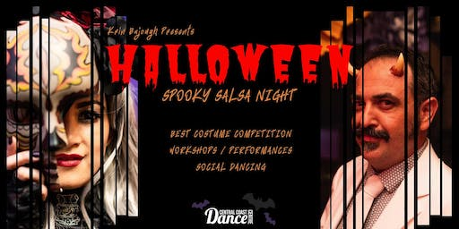 Halloween Spooky Salsa Party!
