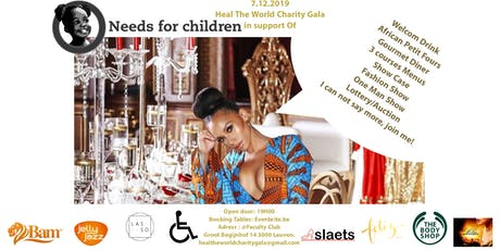 Heal The World Charity Gala In Support Of Needs For Children Foundation! billets